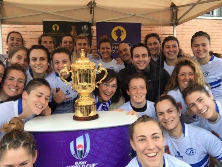La Copa del Mundo de Rugby hace parada en el Valle de las Cañas de Pozuelo de Alarcón