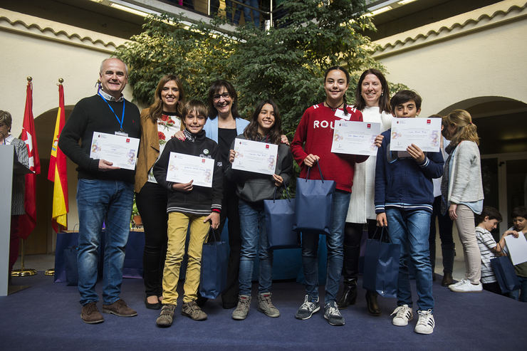 Pozuelo ha acogido una gymkhana de ciencias y matemáticas con 86 equipos de Primaria y Secundaria