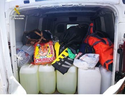 Intervenidos más de 1.360 litros de gasolina para el repostaje de 'narcolanchas' en el Campo de Gibraltar