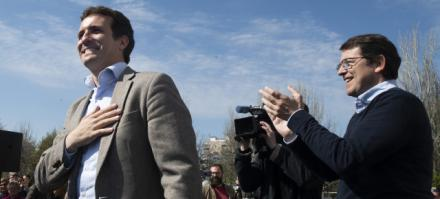 """Casado: """"El PP es el partido de la España rural"""""""