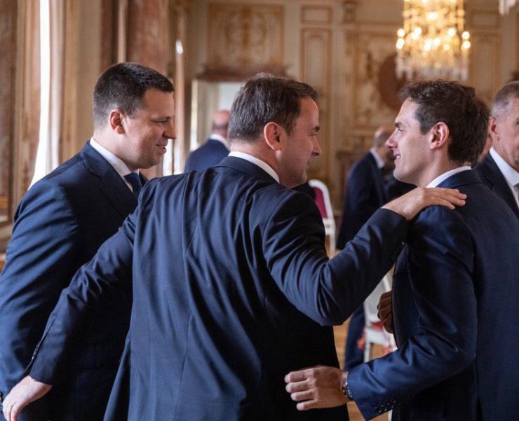 """Rivera: """"Compartimos con Macron la misma disposición para reformar Europa"""""""