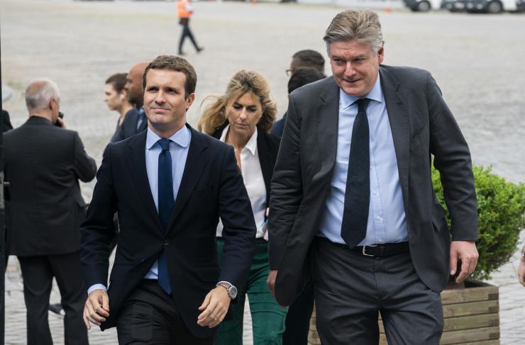 """Casado advierte a Sánchez: """"No se puede estar con los proetarras y al mismo tiempo pedirnos la abstención"""""""