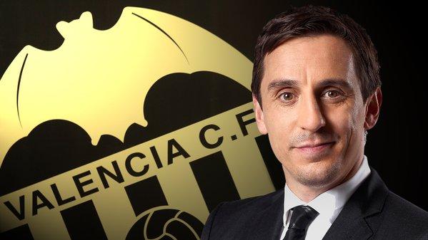 Gary Neville sustituye a Nuno en el Valencia