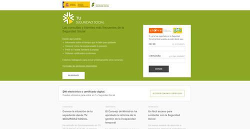 La pagina web de las pensiones triunfa