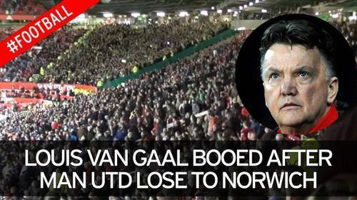 ¿Nadie se disculpa con Louis Van Gaal?