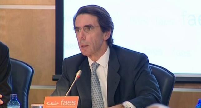 Aznar advierte contra la simplificación y el buenísmo
