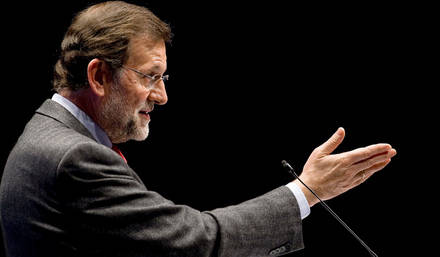 Rajoy insiste en las dificultades que enfrenta ahora