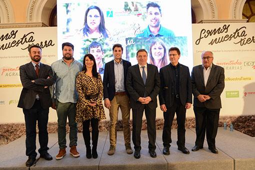 Luis Planas apuesta por el apoyo a los jóvenes como potenciales transformadores del mundo rural