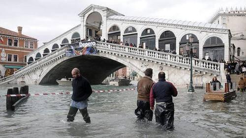 El cambio climático pone en peligro Venecia o las Galápagos