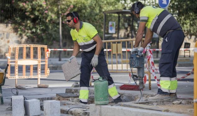 El Ayuntamiento de Huelva reurbaniza la Calle Virgen de Las Angustias para garantizar la accesibilidad