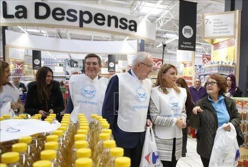 La Campaña de Recogida para los Bancos de Alimentos ha sido un éxito