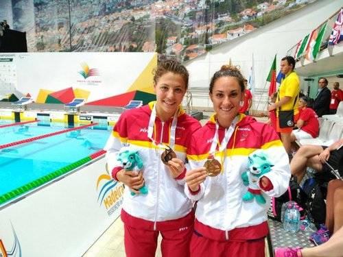 La piscina paralímpica sigue trayendo buenas noticias