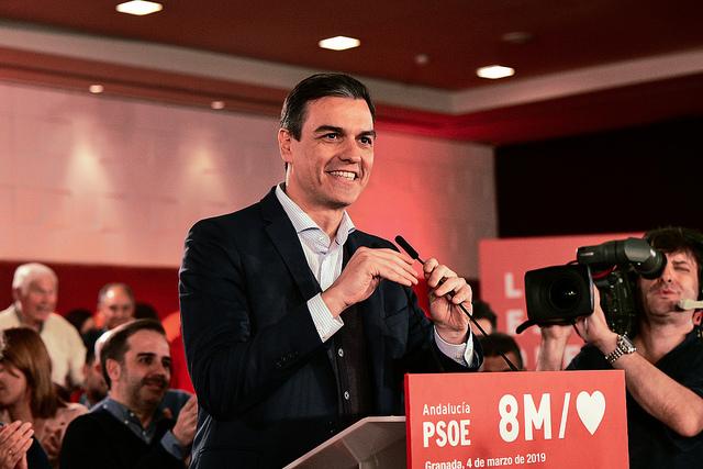 """Sánchez: """"La España que va a ganar en este país es la que va a salir a las calles el 8M"""""""
