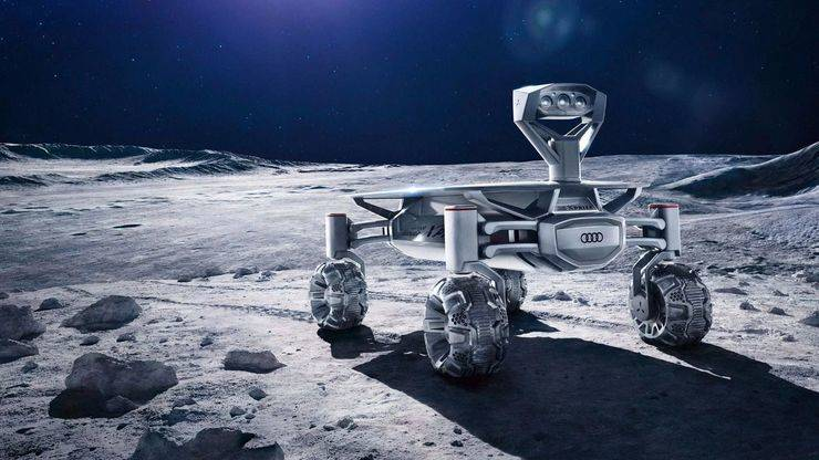 Audi entra en la carrera espacial