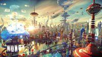 Impresionante versión en 3D de 'Futurama'