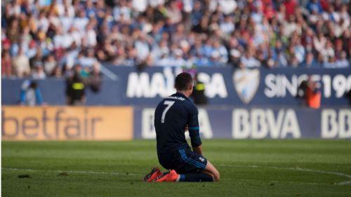 El Madrid se apea de la Liga en la Rosaleda