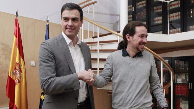 Primer escollo PSOE-Podemos: con quién pactar