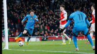 Un doblete de Messi acaba con la resistencia del Arsenal