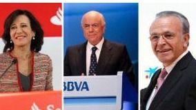 Los consejeros de los Bancos Españoles se forran un 16,6% más