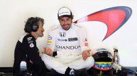 Carlos Sainz Jr saldrá octavo y Sainz décimo