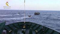 La Guardia Civil rescata 276 inmigrantes en aguas italianas