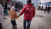 Nueve de cada diez niños refugiados llegaron solos a Italia