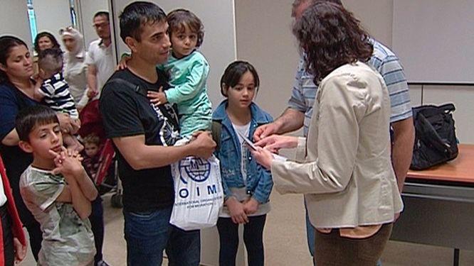 Llegan a España diez refugiados sirios más procedentes de Turquía