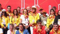 La infanta Elena y varios ministros despiden al equipo paralímpico español