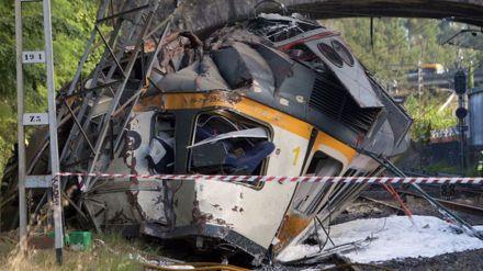 Accidente ferroviario en O Porriño (Pontevedra): Cuatro muertos y numerosos heridos