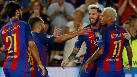 La mayor goleada del Barcelona en la historia de la Champions