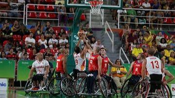A por el primer oro paralímpico en baloncesto en silla de ruedas