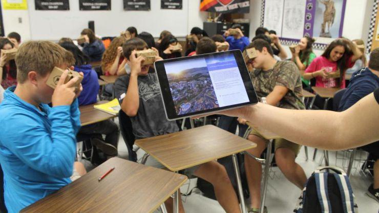 La educación también cede ante la realidad virtual