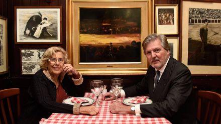 Carmena y Méndez de Vigo quedan para almorzar