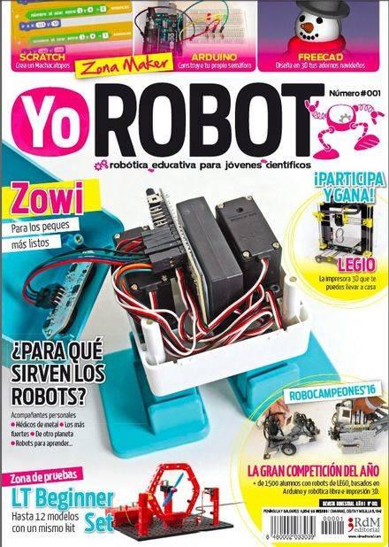 Nace la revista Yo ROBOT