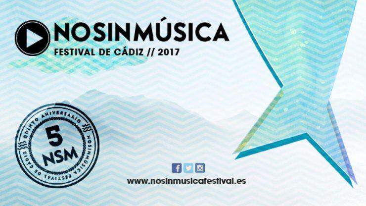 Primeros nombres confirmados del No sin Música Festival 2017