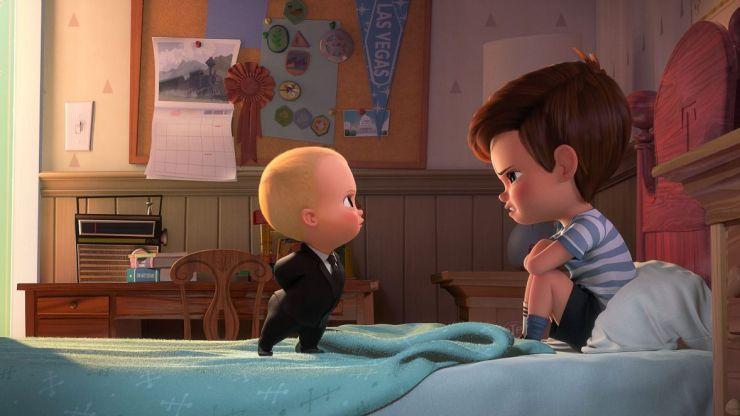 'El bebé jefazo', una atípica película de animación