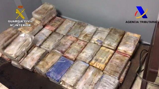 Interceptado en Algeciras un contenedor procedente de Brasil con 445 kilos de cocaína