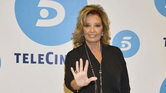 María Teresa Campos consigue un contrato de larga duración con Mediaset