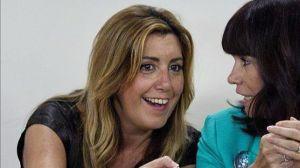 Susana busca los cara a cara digitales con los militantes