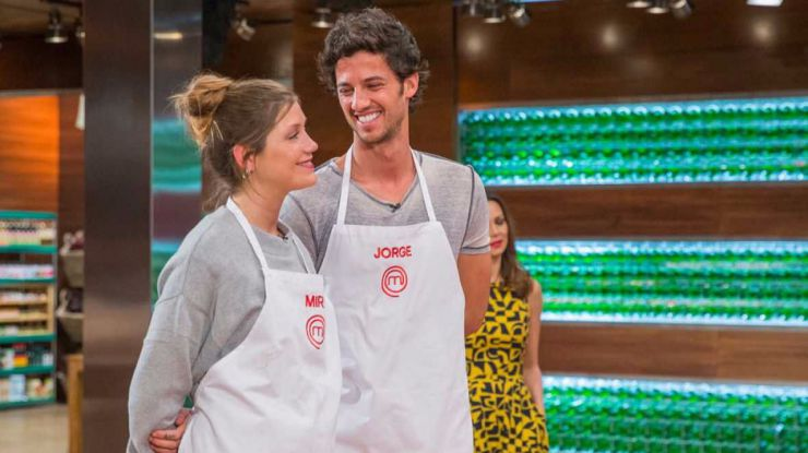 Jorge y Miri, la pareja del año