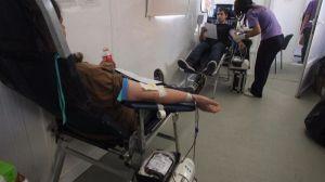 Comienza la Olimpiada Roja de donación de sangre