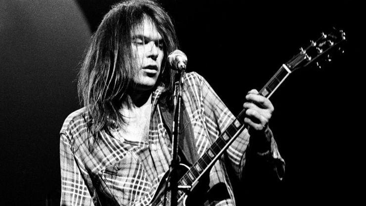 Neil Young publica su famoso disco