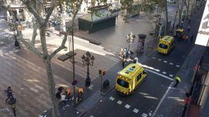 Casi un centenar de víctimas en Barcelona