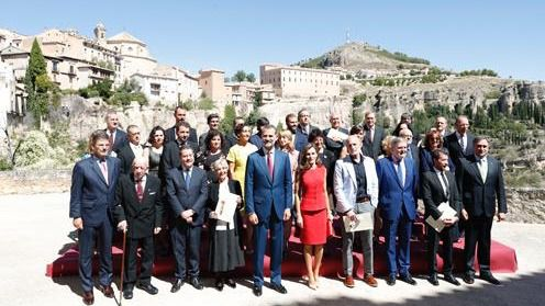 Los Reyes de España entregan los Premios Nacionales de Cultura 2016