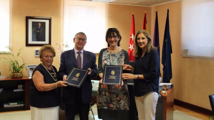 El Ayuntamiento de Pozuelo renueva su apoyo a los enfermos de Alzheimer y a sus familias