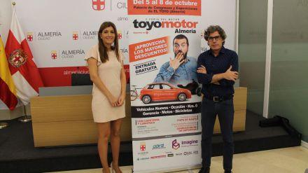 La feria del motor 'Toyomotor' vuelve al Palacio de Congresos deAlmería