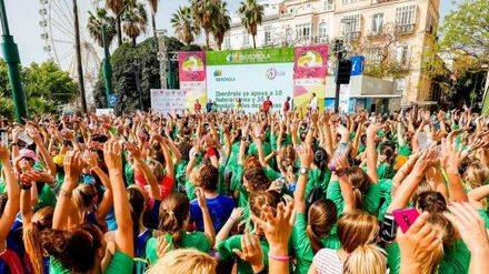 Mujer y deporte se dan cita en la plaza del Ayuntamiento de Valencia este fin de semana