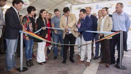 El alcalde inaugura la Feria de la Tapa, que vuelve a la Plaza de Las Monjas después de 11 años