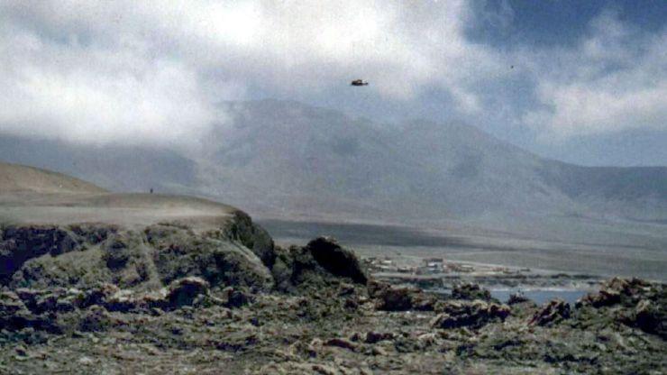¿OVNIs en Los Andes?