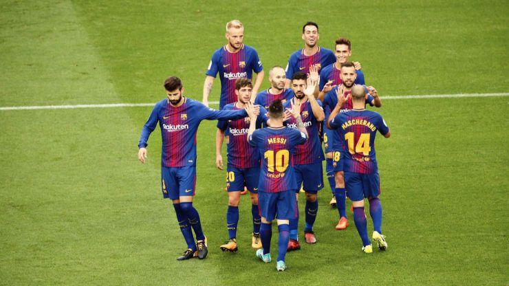 El Barça golea a puerta cerrada por el 1-O